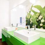 Impression der Waschräume in der Praxis Dr. Krop in Erding